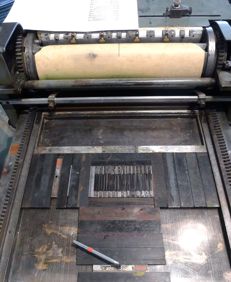 Transmission on press